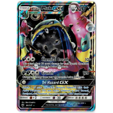 Alolan Muk GX Pokemon Card Sun and Moon Burning Shadows 84/147 Ultra Rare Holo