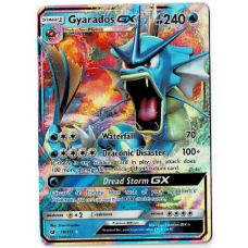 Gyarados GX Full Art Pokemon Card S/M Crimson Invasion 18/111 Ultra Rare Holo