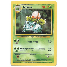Ivysaur Base Set Pokemon Card 30/102 Uncommon