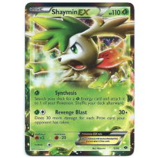 Shaymin EX Pokemon Card BW Next Destinies 5/99 Ultra Rare Holo