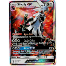 Silvally GX Full Art Pokemon Card S/M Crimson Invasion 90/111 Ultra Rare Holo