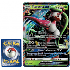 Tsareena GX Pokemon Card Promo SM56 Ultra Rare Holo Oversized