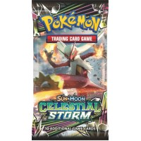 Pokemon Sun and Moon Celestial Storm Booster Pack