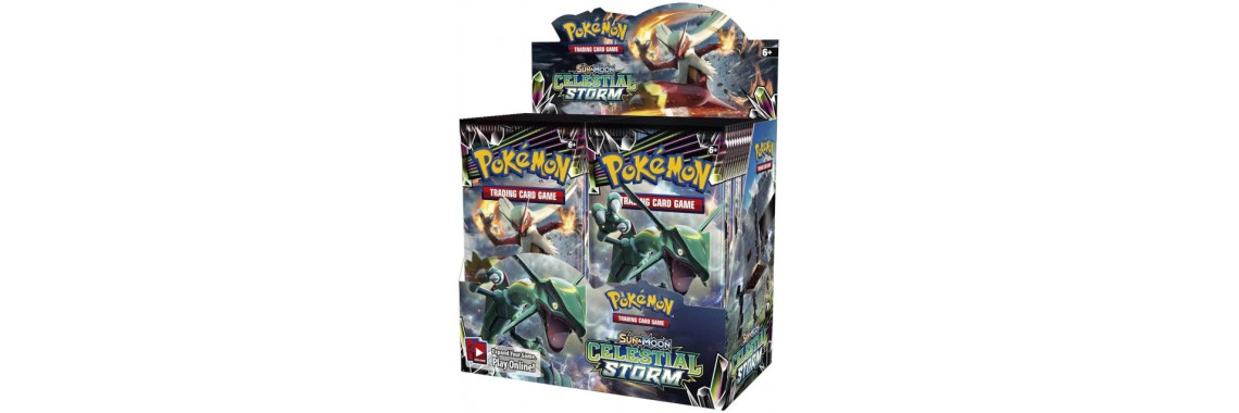 Pokemon Forbidden Light Booster Box