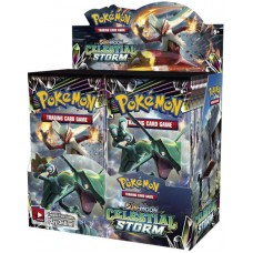 Pokemon Sun and Moon Celestial Storm Booster Box