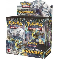 Pokemon Sun and Moon Lost Thunder Booster Box