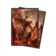 Ultra Pro Magic: The Gathering Hour of Devastation V1 Deck Protector Card Sleeves 80 Per Pack