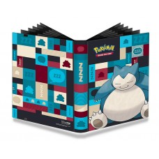 Ultra Pro Pokemon 9-Pocket PRO-Binder Portfolio Album Snorlax FREE SHIPPING