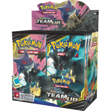 Pokemon Sun and Moon Team Up Booster Box