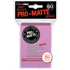 Ultra Pro 60ct Small Pink Pro-Matte Deck Protector Card Sleeves 60 Per Pack