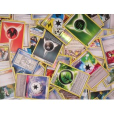 50 Pokemon Energy/Trainer Cards Bulk Lot
