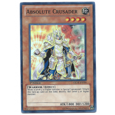 Absolute Crusader YuGiOh Card GENF-EN036 1st Edition Super Rare Holo