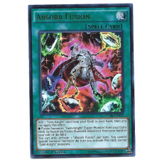 Absorb Fusion YuGiOh Card CORE-EN092 1st Edition Ultra Rare Holo