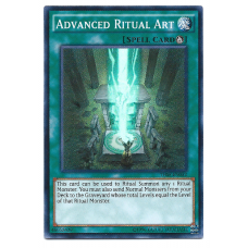 Advanced Ritual Art YuGiOh Card THSF-EN052 Unlimited Edition Super Rare Holo
