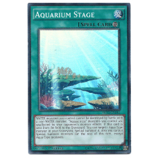 Aquarium Stage YuGiOh Card DRL2-EN042 1st Edition Super Rare Holo