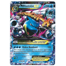 Mega Blastoise EX Pokemon Card XY Evolutions 22/108 Ultra Rare Holo