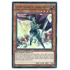 Celtic Guard of Noble Arms YuGiOh Card MVP1-EN048 1st Edition Ultra Rare Holo