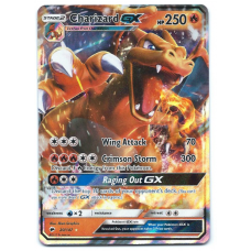 Charizard GX Pokemon Card Sun and Moon Burning Shadows 20/147 Ultra Rare Holo
