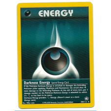 Darkness Energy Pokemon Card Neo Genesis 104/111 Rare