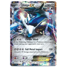 Dialga EX Pokemon Card XY Phantom Forces 62/119 Ultra Rare Holo