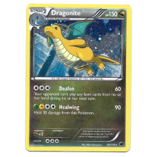 Dragonite Pokemon Card BW Plasma Freeze 83/116 Rare Holo