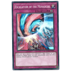 Escalation of the Monarchs YuGiOh Card MP15-EN054 1st Edition Super Rare Holo