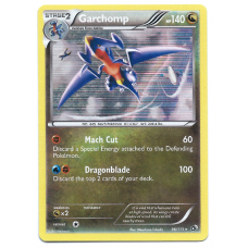 Garchomp Pokemon Card BW11 Legendary Treasures 96/113 Rare Holo