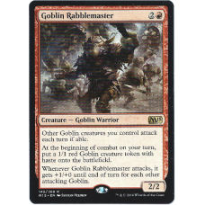 Goblin Rabblemaster Magic: The Gathering Card 2015 M15 Core Set #145 Rare