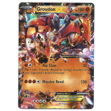 Groudon EX Pokemon Card XY Primal Clash 85/160 Ultra Rare Holo