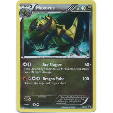 Haxorus Pokemon Card Dragon Vault Promo 16/20 Rare Holo