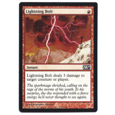 Lightning Bolt Magic: The Gathering Card Basic Land 2010 M10 Core Set 146/249 Common
