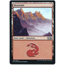 Mountain Magic: The Gathering Card Basic Land 2015 M15 Core Set #265 Common Foil