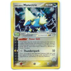 Team Aqua's Manectric Pokemon Card Team Magma vs Team Aqua 4/95 Rare Holo