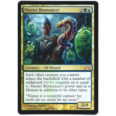 Master Biomancer Magic: The Gathering Foil Card Gatecrash Mythic Rare