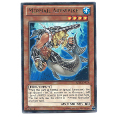Mermail Abysspike YuGiOh Card ABYR-EN018 Unlimited Edition Rare