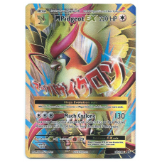 Mega Pidgeot EX Full Art Pokemon Card XY Evolutions 105/108 Ultra Rare Holo