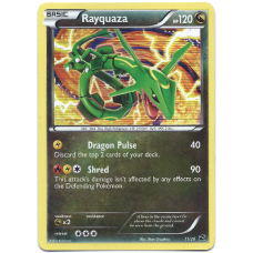 Rayquaza Pokemon Card Dragon Vault Promo 11/20 Rare Holo