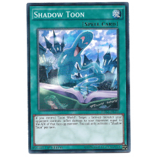 Shadow Toon YuGiOh Card DRL2-EN025 1st Edition Super Rare Holo