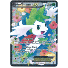 Shaymin EX Full Art Pokemon Card BW Legendary Treasures Radiant Collection RC21/RC25 Ultra Rare Holo