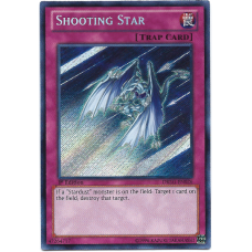 Shooting Star YuGiOh Card DRLG-EN026 1st Edition Secret Rare Holo