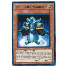 T.G. Cyber Magician YuGiOh Card EXVC-EN016 Unlimited Edition Super Rare Holo