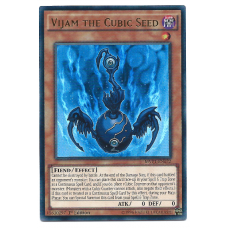 Vijam the Cubic Seed YuGiOh Card MVP1-EN032 1st Edition Ultra Rare Holo