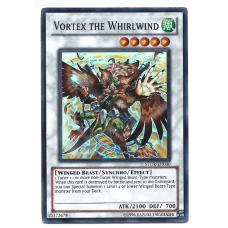 Vortex the Whirlwind YuGiOh Card STOR-EN000 Unlimited Edition Super Rare Holo