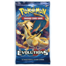 Pokemon XY12 Evolutions Booster Pack 10 Cards New