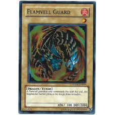 Flamvell Guard YuGiOh Card HA01-EN009 Unlimited Edition Super Rare Holo