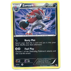 Zoroark Pokemon Card Black and White 71/114 Rare Reverse Holo