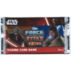 Star Wars Topps Force Attax Extra Booster Pack 5 Cards New