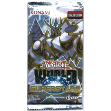 YuGiOh World Superstars 1st Edition Booster Pack 5 Cards New