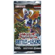 YuGiOh Battles of Legend: Light's Revenge 1st Edition Booster Pack 5 Cards New