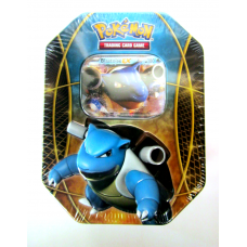 Blastoise EX Pokemon Best of EX Tin Sealed Includes 4 Booster Packs